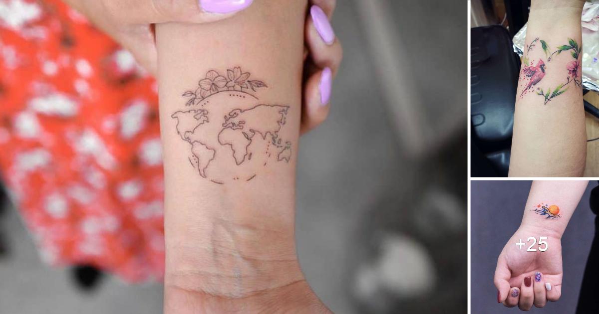 Los 30 diseños de Tatuajes en la Muñeca más Populares