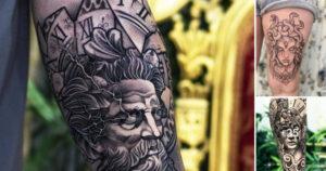 21 Increíbles Diseños de Tatuajes Griegos que Necesitas Ver