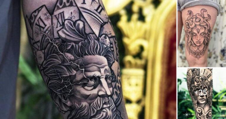 Lee más sobre el artículo 21 Increíbles Diseños de Tatuajes Griegos que Necesitas Ver