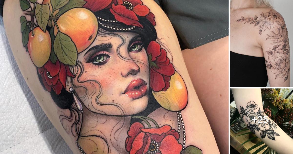 Tatuajes de Artistas Femeninas que te dejaran con la boca abierta