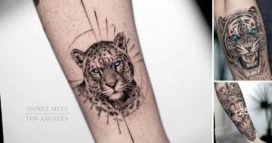 Increibles Tatuajes del Artista «Daniel Silva» en los Brazos