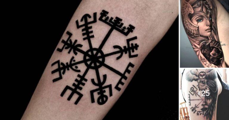 Increíbles Diseños de Tatuajes Inspirados en la Cultura Vikinga